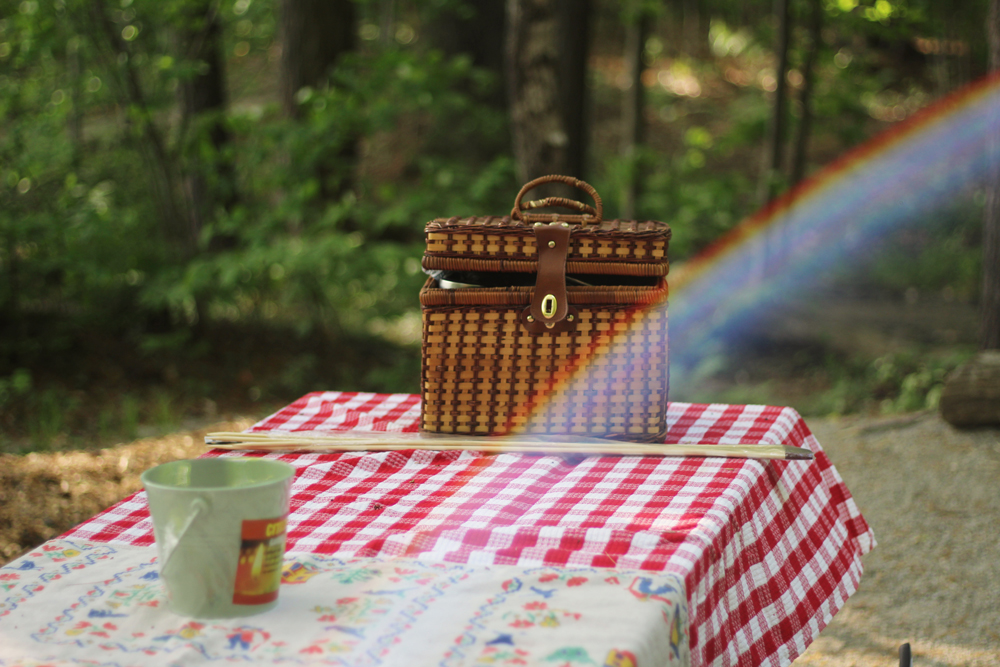 An (almost) eco-friendly picnic - my daughter's first birthday