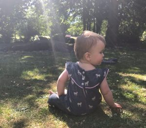 Our daughter Sophie loves being amongst nature