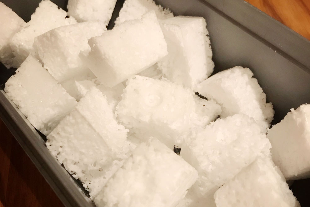Homemade eco dishwasher tablets | Striving for Simple