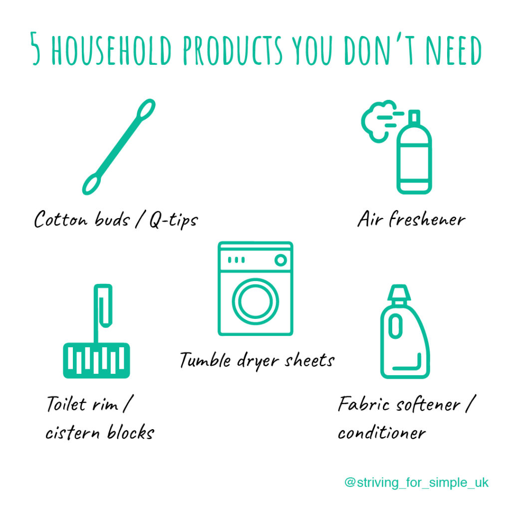 5 household products you don't need